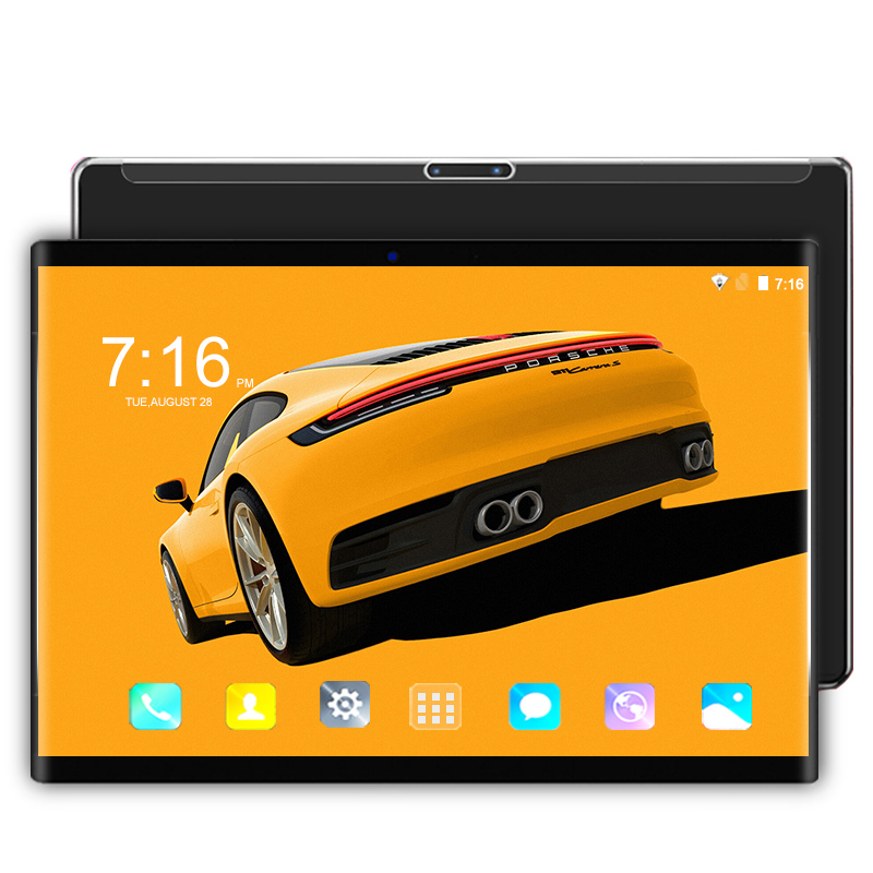 6GB RAM 64GB rom 10.1 Inch tablet pc Android 8.0 Octa Core Dual SIM card 3G/4G LTE Smartphone WIFI Tablets 10 10.1 free shipping