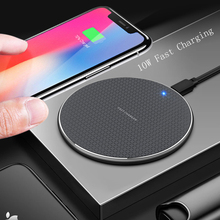 10W Qi Wireless Charger for iPhone 11 Pro X/XS Max XR 8 Plus