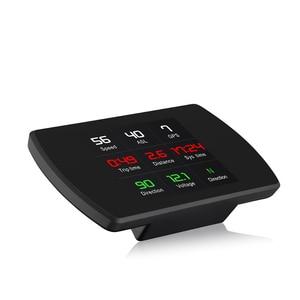 Image 4 - OBD2 HUD T800 Car Head Up Display GPS Speedometer  Smart driving Computer GPS Satellites Speed Work Universal Auto