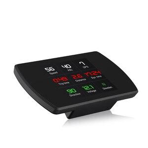 Image 4 - OBD2 HUD T800 Car Head Up Display Tachimetro GPS Intelligente del Computer di guida GPS Satelliti Velocità Lavoro Auto Universale