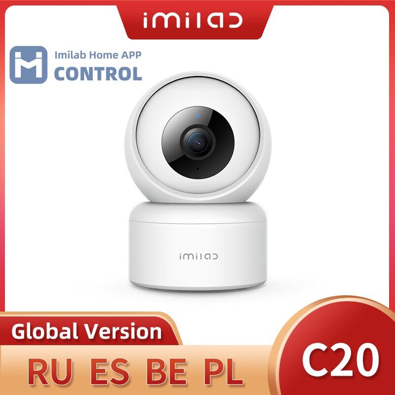 Nouveau IMILAB C20 caméra de sécurité à domicile 1080P HD caméra IP WiFi caméra intérieure CCTV caméra de Surveillance vidéo travail avec application IMILAB