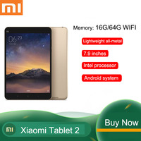 Xiaomi tablet 2nd generation entertainment video tablet 7.9 inch screen used tablet wifi version gold 90% new-2+16G/64GWiFi vers