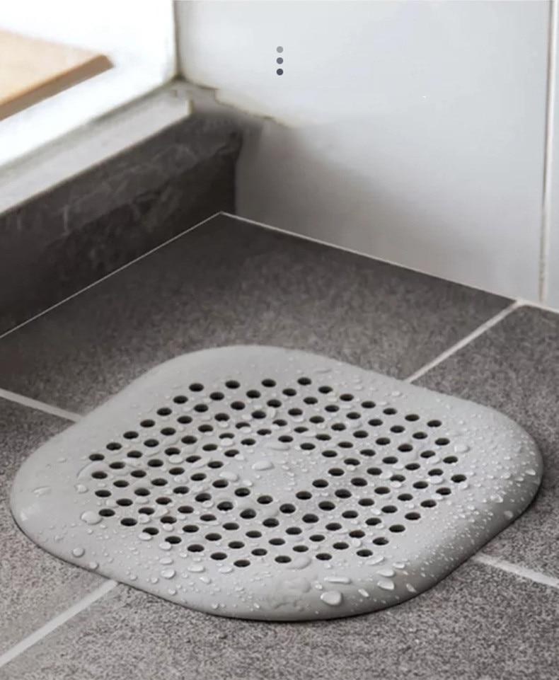 Creative Hair Catchers Silicone Sink Drain Strainer Shower Bathtub Floor Filter Water Stopper Rubber Kitchen Bathroom Deodorant