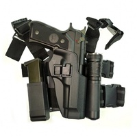 CQC Beretta 92 96 M9 Gun Holster Tactical Military Airsoft Thigh Leg Holster Hunting Accessories Right Handed Pistol Holder