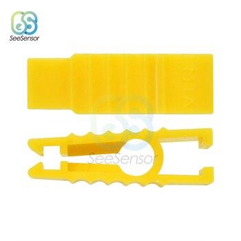 2pcs/lot Convenient Plastics Car Fuse Clip Automobile Fuse Puller Tools For Autos Insert Fuse