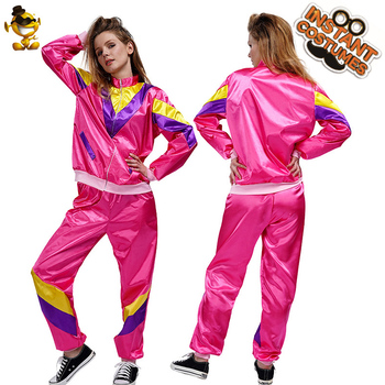1980'S Disco Costumes for Women Disco Clothing Dress up Carnival Party Role Play Hippies Disco Ouitfits Halloween Costumes фото