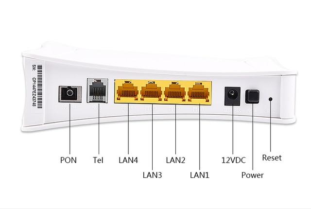Onu TG1600ez V3 4FE + 1 Giọng + Tặng Bộ 4 Nồi Giao Diện GPON/Epon Onu Chất Lượng Cao