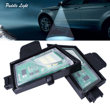 2x Super Bright For Volkswagen GOLF 7 LED Under Mirror Puddle Light VW led Rear mirror Lamp Car styling 6000K