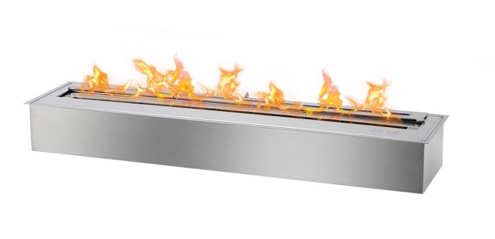 Hot Sale 36 Inch Stainless Steel Chimney Ethanol Fireplace Burner Insert