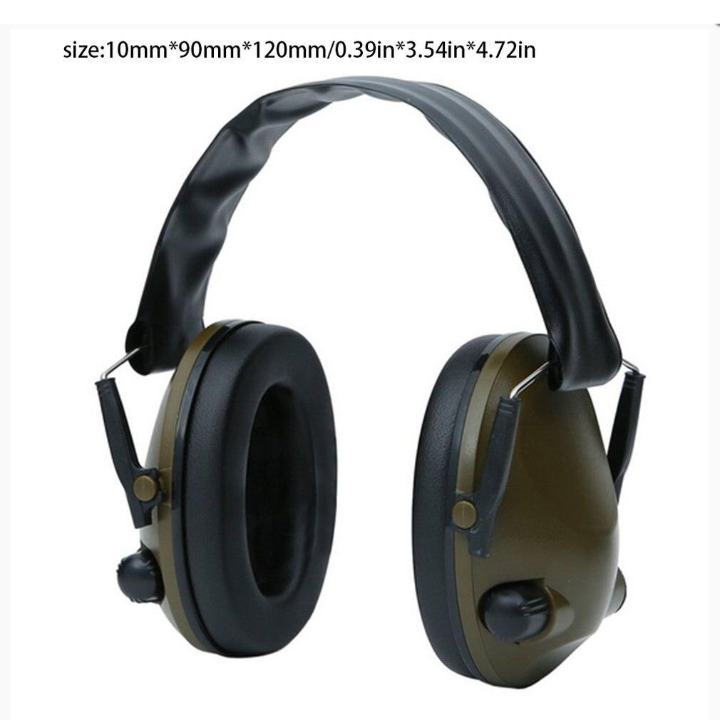 tiro fone de ouvido anti ruido defensores da orelha protetor auditivo 05