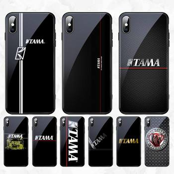CUTEWANAN Drum kit brand TAMA Soft Shell Phone Case Tempered Glass For iPhone 11 Pro XR XS MAX 8 X 7 6S 6 Plus SE 2020 case