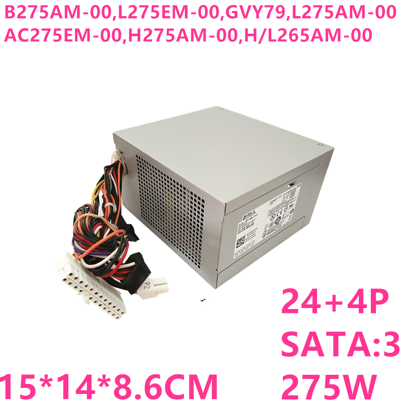 New PSU For Dell 390 790 990 3010 9010 7010MT Power Supply B275AM-00 L275EM-00 GVY79 L275AM-00 AC275EM-00 H275AM-00 H/L265AM-00