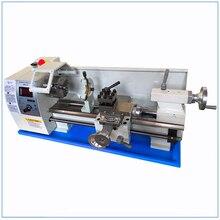 "Updated Brushless Motor 8"" x 16""Variable Speed Mini Metal Lathe Variable Speed Metal Turning Cutter"