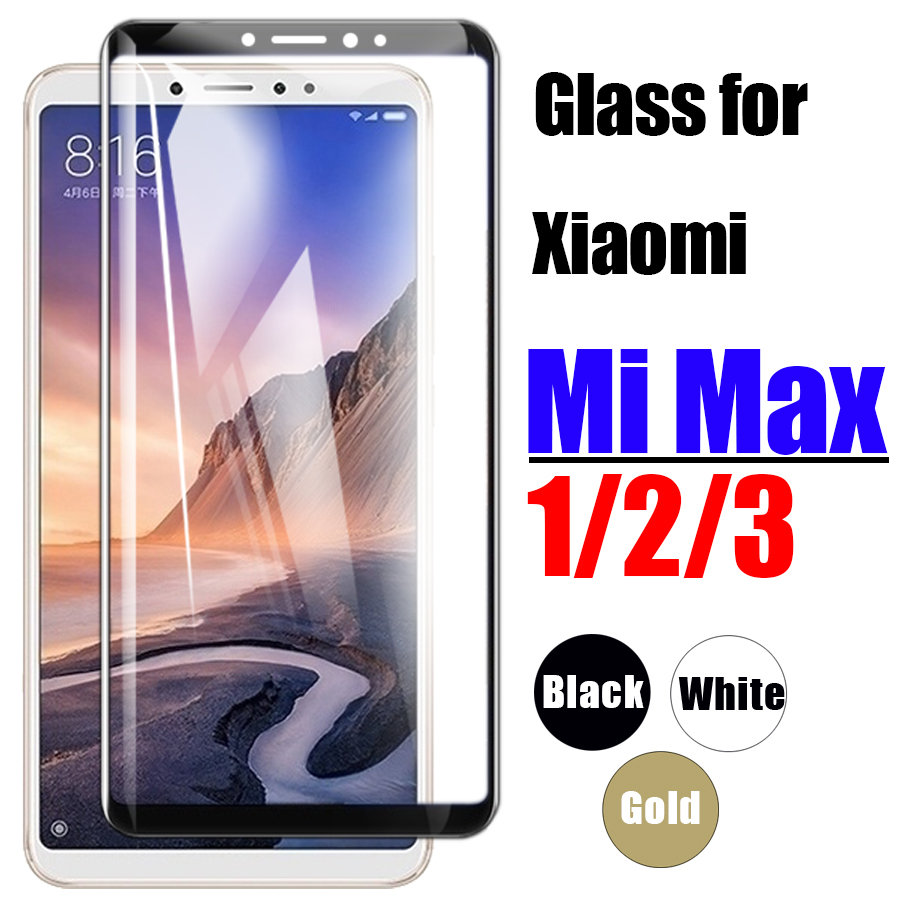 For xiaomi <font><b>mi</b></font> max glass screen protector protective film tempered glas ksiomi xiaomei <font><b>xaomi</b></font> <font><b>max2</b></font> max3 2 3 tremp xiami xiomi 3max image