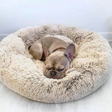 Dog-Beds Donut Round Pillow Orthopedic Dropship Indoor Warming Dogs-Self Cat for Cama