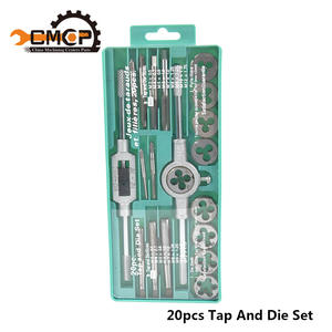 Tap-Wrench Die-Set Dies Screw-Tap Hand-Tools Metric-Thread Adjustable High-Quality 20pcs