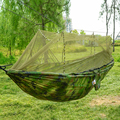 Открытый гамак москитная сетка парашютный гамак кемпинг подвесная кровать качели гамак портативный двойной гамак