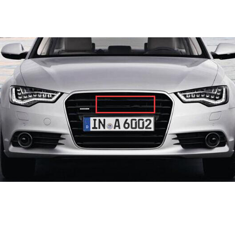 Car for audi 4 Ring 3D ABS Plastic Black chrome Carbon Grill Front Rear Boot Badge Emblem For A3 A5 Q3 Q5 Q7 A4L A6L C7 B8