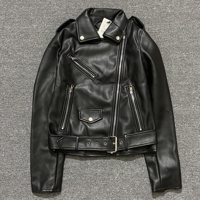 2020-Spring-Autumn-With-Sashes-Pu-Faux-Leather-Jacket-Women-White-Black-Zipper-Slim-Short-Biker.jpg_640x640 (1)