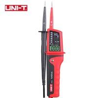 UNI T UT15C Waterproof Digital Voltage Meter Clamp AC DC Voltage Testers LCD Display Auto Range Phase Rotation Unit Meters