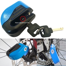 цены New Motorcycle Scooter Bicycle Anti-theft Wheel Disc Brake Lock Security Alarm