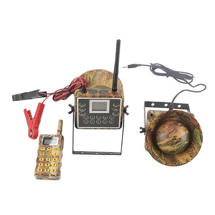 PDDHKK Mix Voice 60W électronique oiseau appelant chasse canard oie canard sons lecteur mp3 télécommande avec minuterie chasse leurre