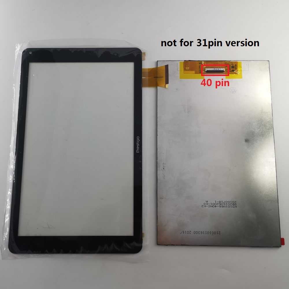 40 Pin Lcd Display For Prestigio WIZE 3131 3G PMT3131_3G_D PMT3131_3G_C Touch Screen Panel Digitizer Glass LCD Display Matrix