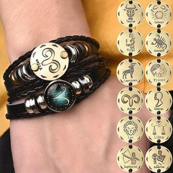 Horoscope Braided Bangle...