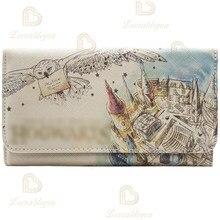 Cosplay feminino embreagem dinheiro carteira bonita aquarela carteira feminina bolsas moda moeda bolsa titular do cartão carteiras