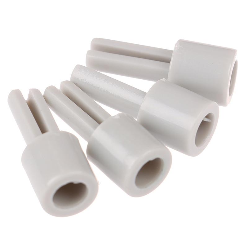 2/4pcs Mixer Potentiometer Lengthening Shaft Grey Plastic Extension Shaft