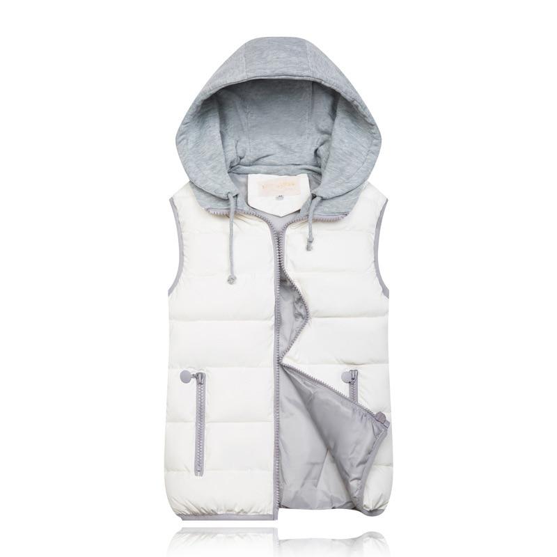 H5ba5ad649f654d369ca547023cbeb558I 2019 Winter Coat Women Hooded Warm Vest Plus Size Candy Color Cotton Jacket Female Women Wadded Feminina chalecos