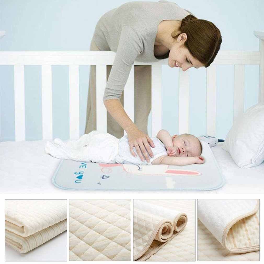 OUTAD Baby Changing Pads & Covers Organic Colored Cotton ...