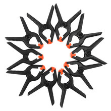 10 sztuk/partia 2 Cal DIY klip narzędzia plastikowe Nylon fotografia tło tkaniny klip stolarstwo naprawiono klip wiosna klip