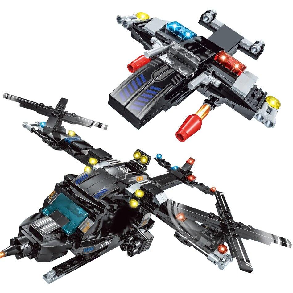 715 pièces Blocs de Construction Poste de Police Compatibles Lego Technic