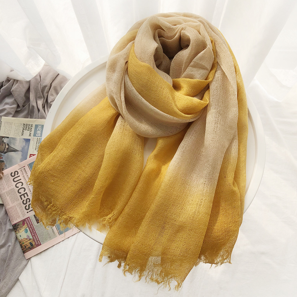 2020 New Arrive Design Women Fashion Wool Scarf Red Yellow Ladies Winter Warm Soft Shawls Wraps