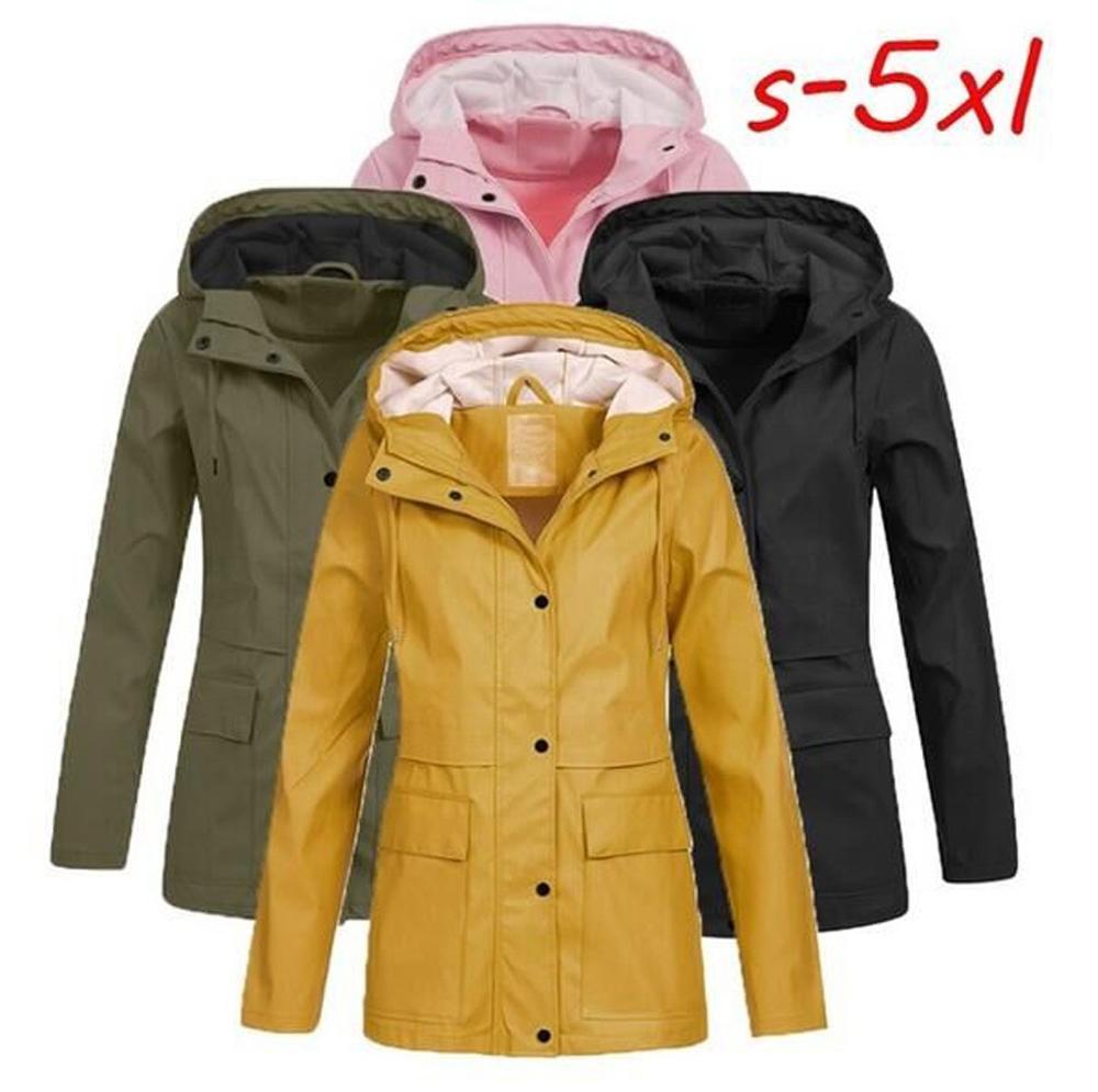 10 Emergency jetables pluie ponchos Imperméable Manteau de pluie avec capuches Portable