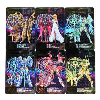 55pcs/set Saint Seiya Toys Hobbies Hobby Collectibles Game Collection Anime Cards