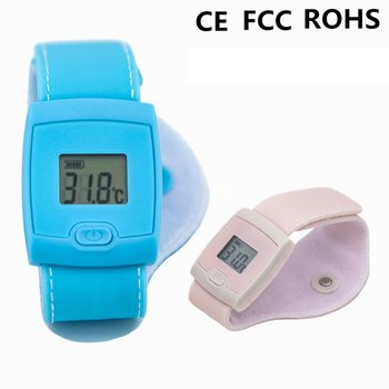Digital Baby Temperature Bracelet Bluetooth Thermometer Child Smart APP Real-time Monitoring Health Care