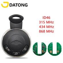 Datong World Car Remote Key For BMW MINI Cooper S One D CLUBMAN COUNTRYMAN CABRIO 868 Mhz ID46 Chip FCCID KR55WK49333 Smar Key