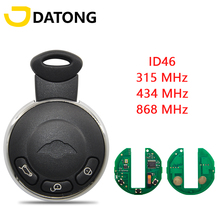 Datong World Car Remote Key For BMW Mini Cooper S One D Clubman Cabrio Countryman 315/434/868Mhz ID46 Replace Smart Control Key