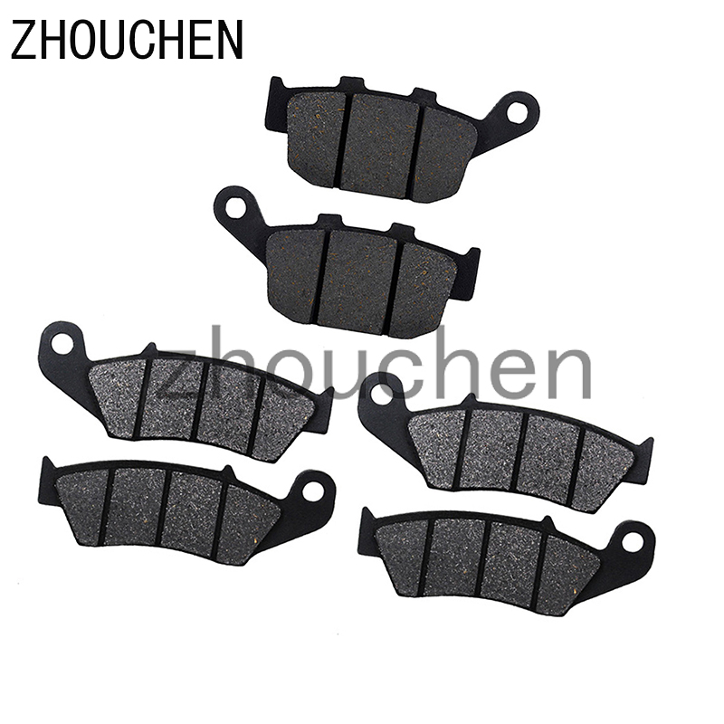 Motorcycle Front and Rear Brake Pads for <font><b>HONDA</b></font> <font><b>XL</b></font> 600 <font><b>Transalp</b></font> 1997-1999 <font><b>650</b></font> 2000-2007 image