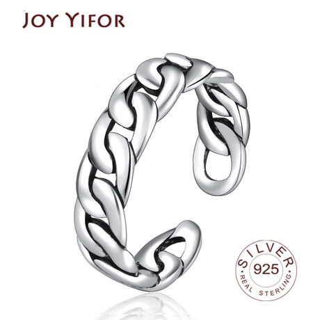 Hot Sale 925 Sterling Silver 9 Styles Stackable Party Finger Ring For Women Original Fine Jewelry Gift
