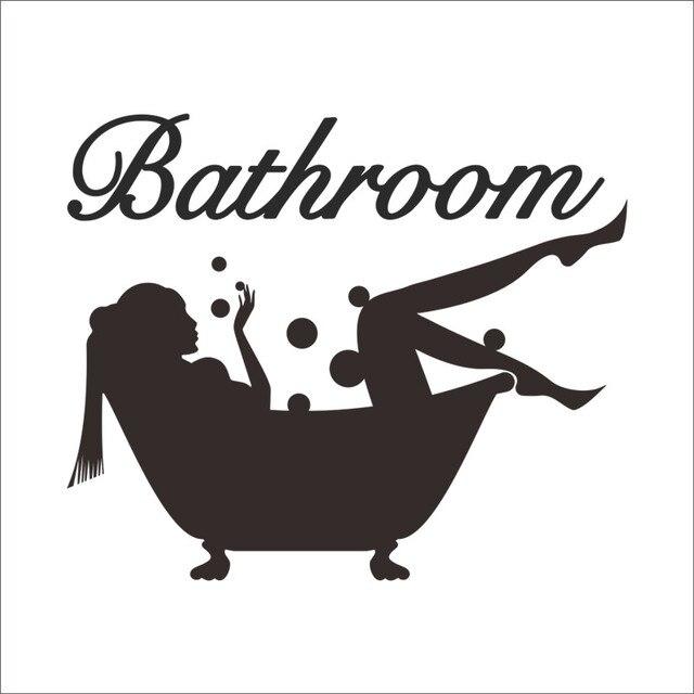 Bathing Bathroom Wall Sticker 2