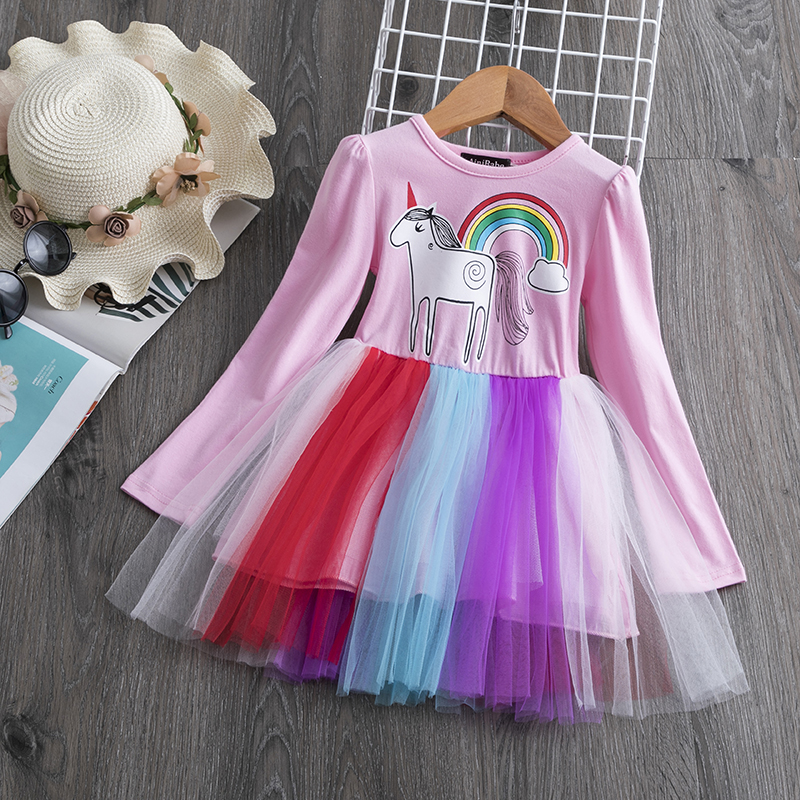 H5ba7dd7deecf4538bc281b807898388ab Children Formal Clothes Kids Fluffy Cake Smash Dress Girls Clothes For Christmas Halloween Birthday Costume Tutu Lace Outfits 8T