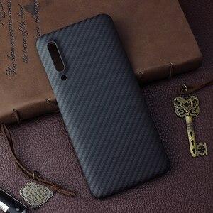 Image 3 - Чехол из углеродного волокна для Xiaomi Mi 10 9 Pro Mi9 5G Mix 3, матовый чехол из арамидного волокна, Ультратонкий Роскошный защитный чехол для телефона