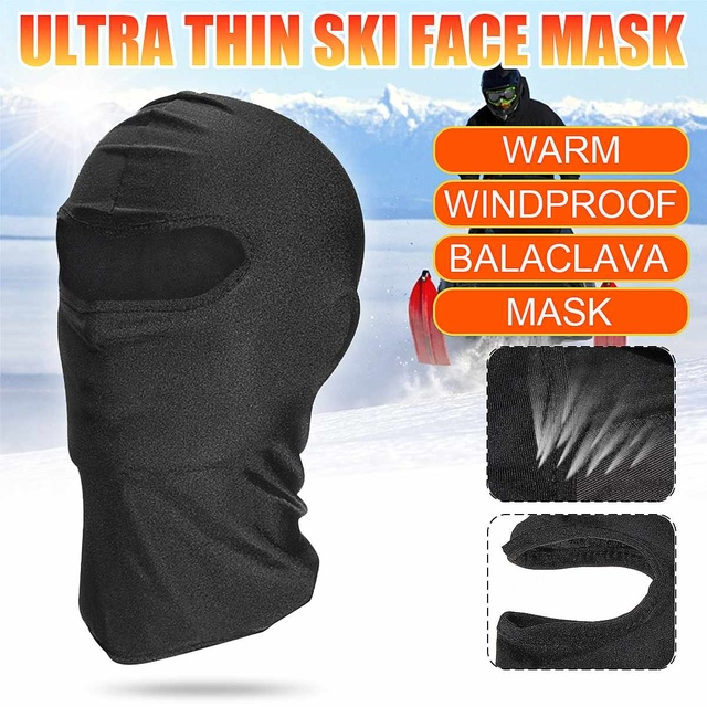 Balaclava Tactical Face Mask Winter Outdoor Sport Windproof Full Face Mask Bike Cycling Skiing Climbing Snowboard