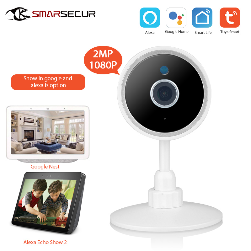 Tuya vie intelligente WiFi 1080P caméra de Surveillance caméra de Surveillance caméra de vidéosurveillance