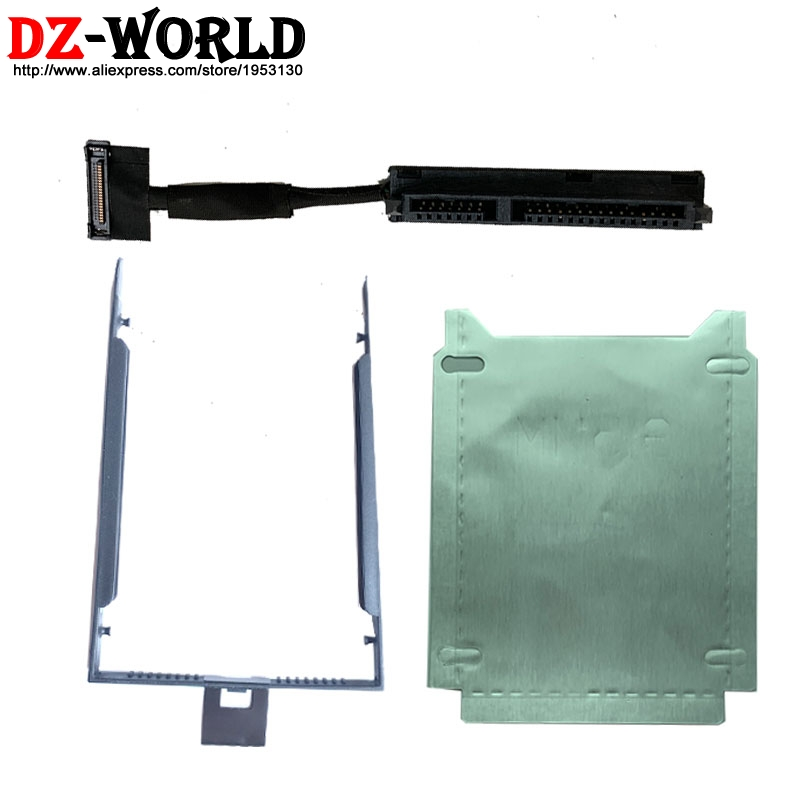 New SATA SSD FP53 HDD Cable Caddy Tray Silver Paper For Lenovo ThinkPad P53 Laptop 02DM497 DC02C00G010 DC02C00G000