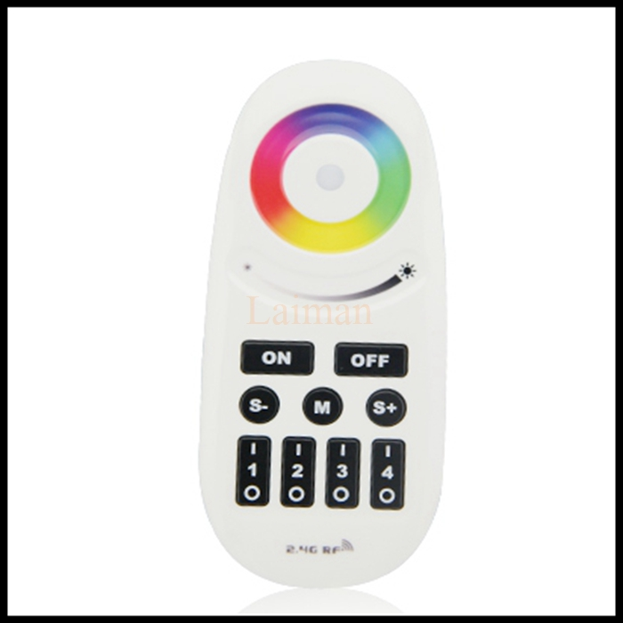 Mi Light Wireless 2.4G 4-Zone RGBW Touchtone remote control for led strip,RF Wifi dimmable rgb controller for milight bulb image
