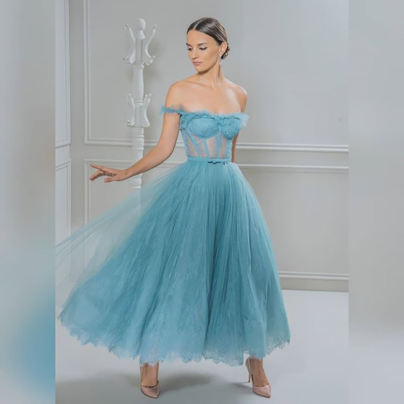 Verngo Grey Evening Dress 2019 Formal Evening Dresses Short Elegant Prom Gowns Party Ladies Vestido De Festa